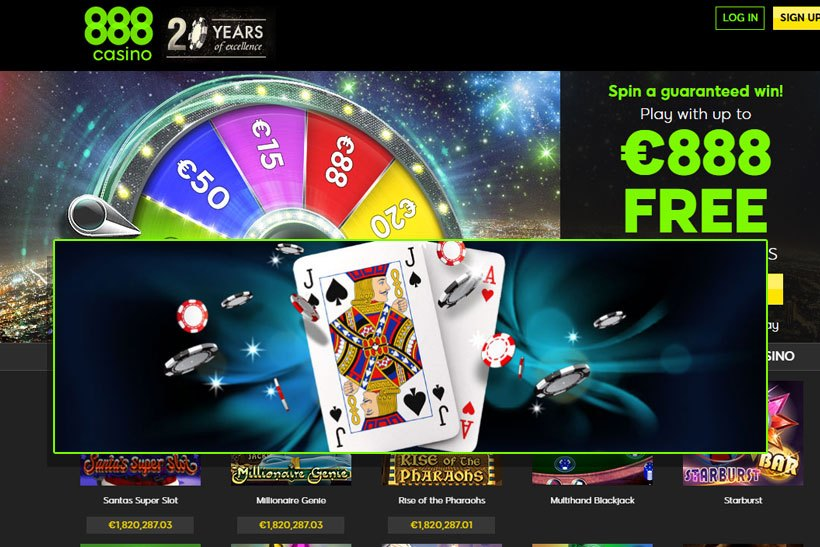 888Casino Blackjack Free Play