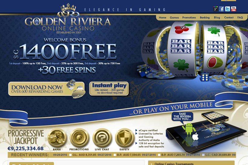 Golden Riviera Is Vegas Partner Lounge Casino