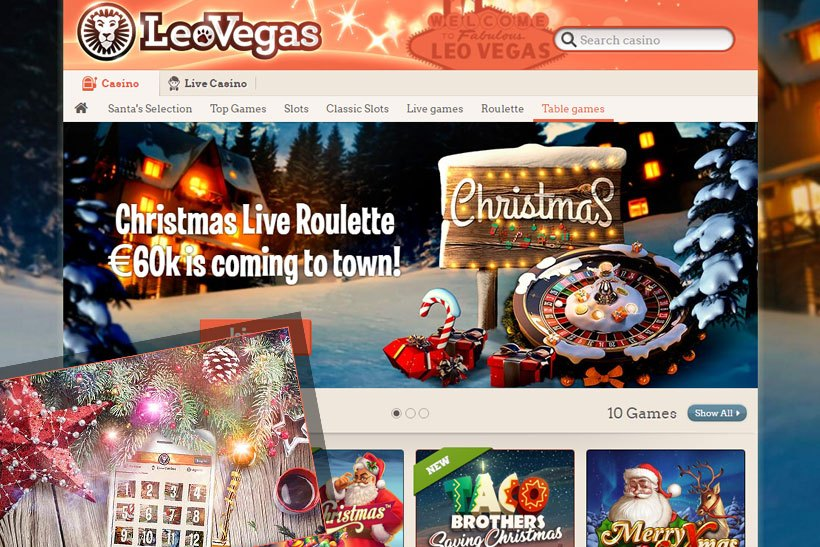 Plenty Of Christmas Offers At LeoVegas