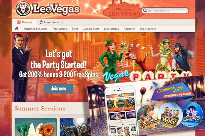 LeoVegas Supports Australian Online Casino Players