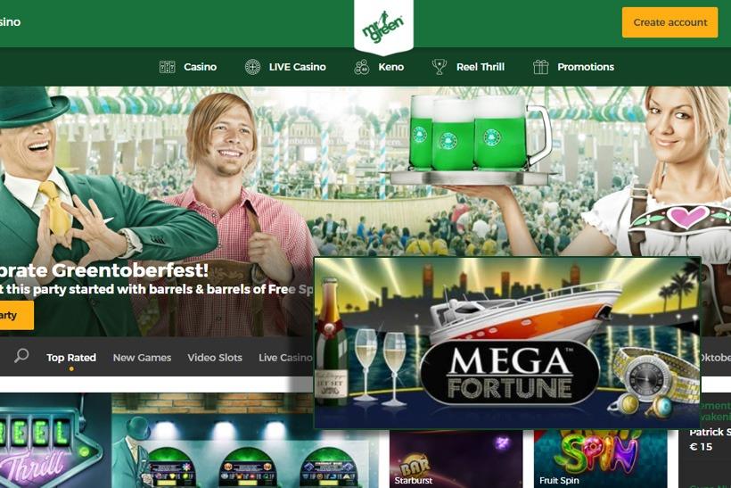 Mr Green Casino Progressive Jackpot Win