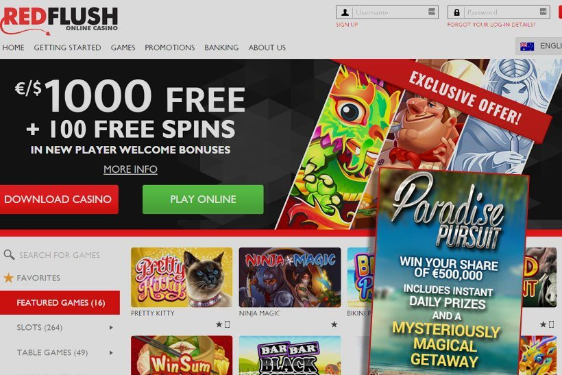 Red Flush Is A Safe Online Casino