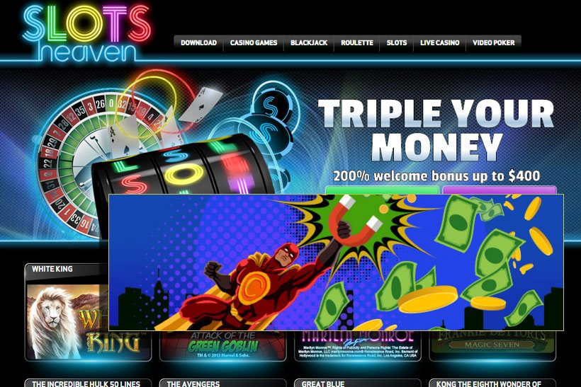 Slots Heaven Is Glowing With Bonuses